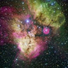 6 NGC 2467 and Surroundings (120 x 120 cm) VERKOCHT