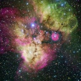 6 NGC 2467 and Surroundings (120 x 120 cm) €288