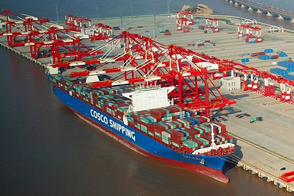 Largest automated container terminal starts operations