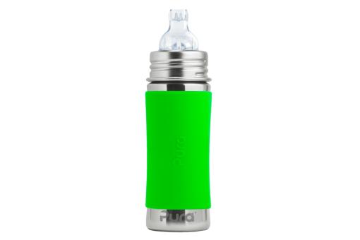 Kinder Trinkflasche Edelstahl plastikfrei auslaufsicher