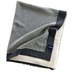 quschel Bio-Baumwolldecke im Waffelstrick