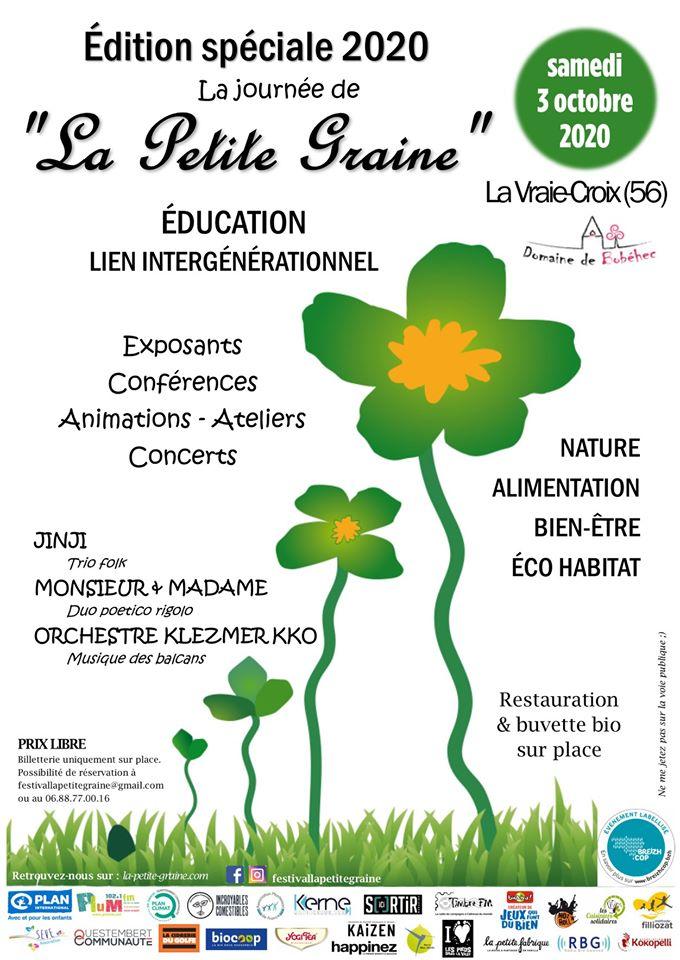 L'idée sortie. Le festival La Petite Graine à La Vraie-Croix (56)