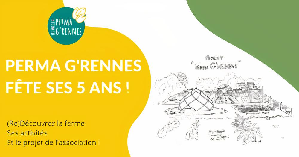 Perma G'Rennes fête ses 5 anset veut lancer une coopérative de consommateurs
