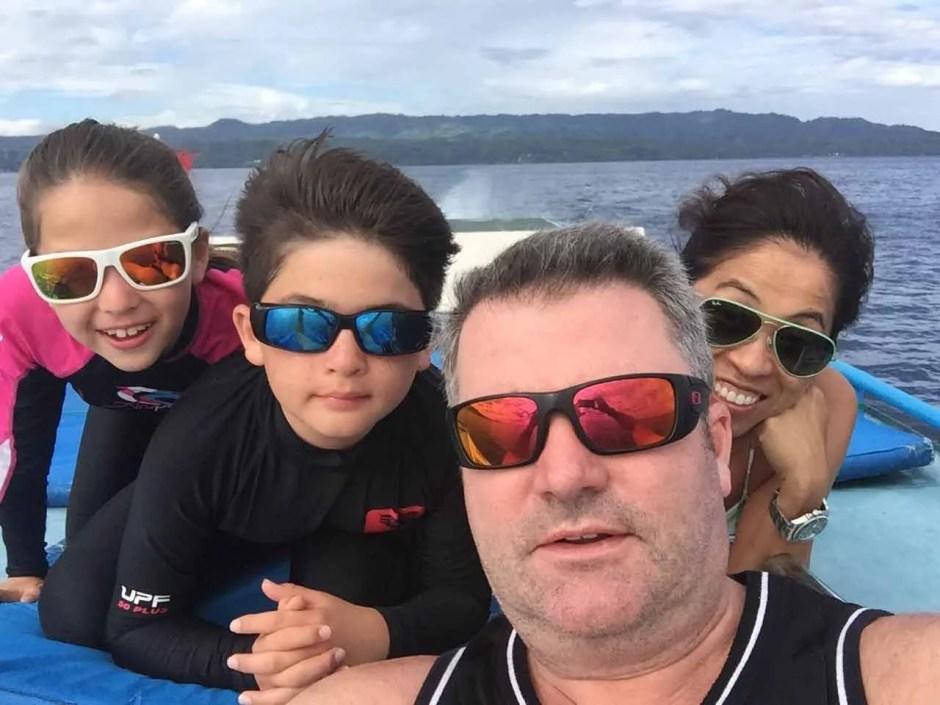 Paul, Claudia, Thomas & Kayleigh