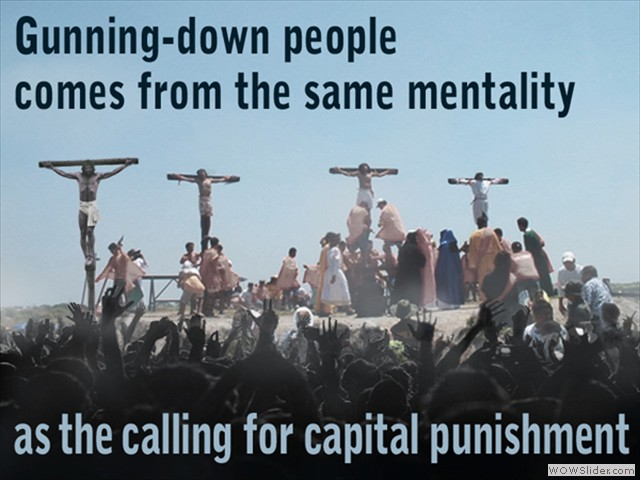 Gunning-down People
