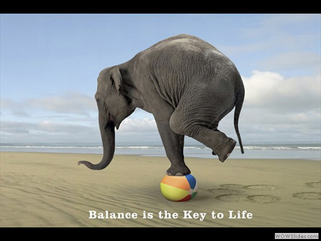 keeping the Balance