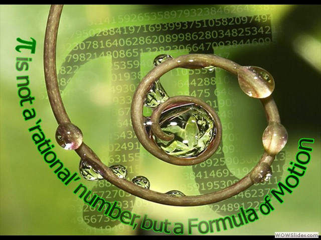 PI Formula of Motion