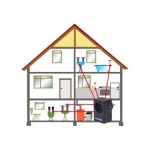 Dr. Clauss Circon Zirkulationspumpensteuerung Installation im Haus