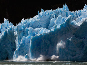 Stop Global Warming - Melting iceberg in Antarctica