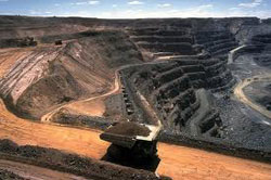Fossil fuels coal-mining-strip-mining