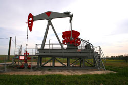 Natural Gas - Oil well
