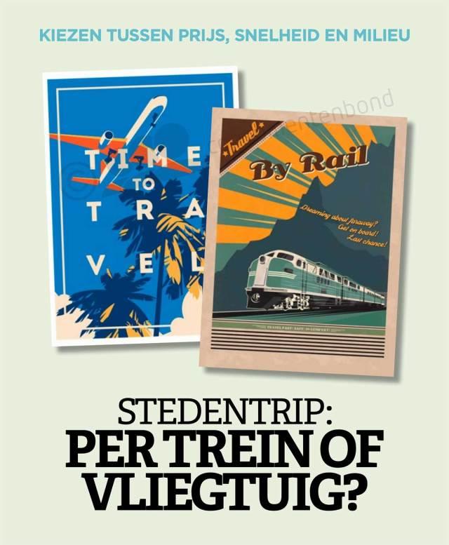 Consumentenbond.-Stedentrip-Per-trein-of-vliegtuig