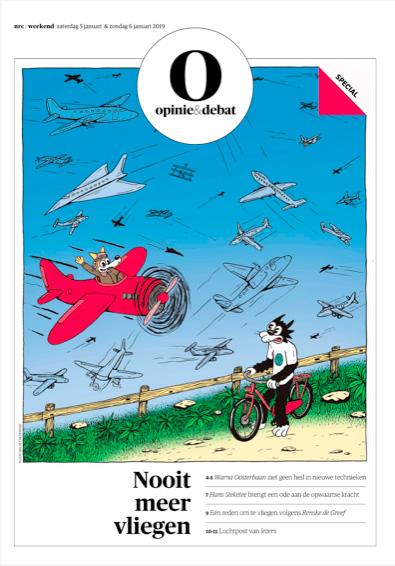 NRC Opinie: Nooit meer vliegen