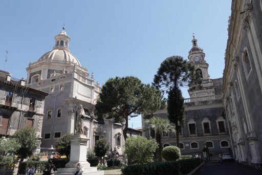 Het centrum van Catania