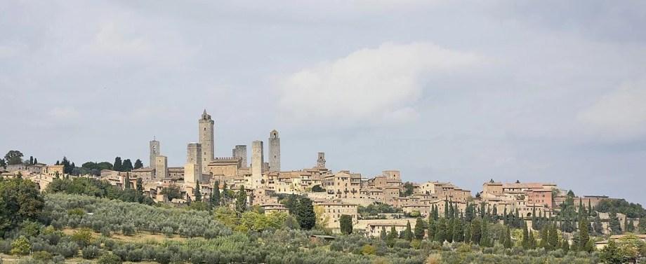 Duurzaam naar Italië - San Gimignano