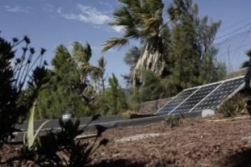 Energías renovables en la casa de paja