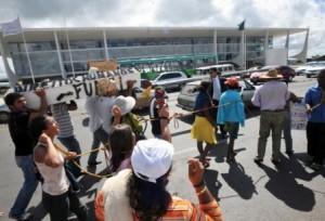 Manifestação em Brasília - FOTO: Agência Brasil