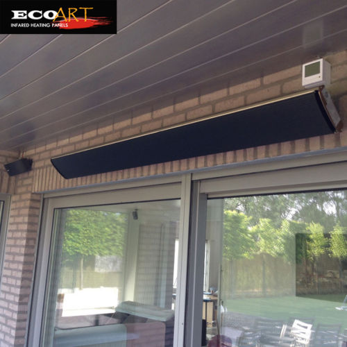 2400w outdoor patio heater wall mounted heater with smart thermostat
