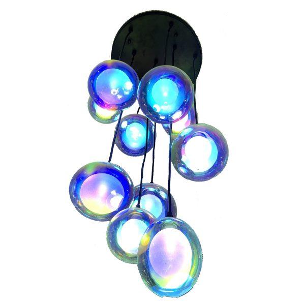 LED rainbow pendant light