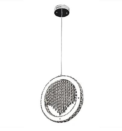 Hanging Single Crystal Ring