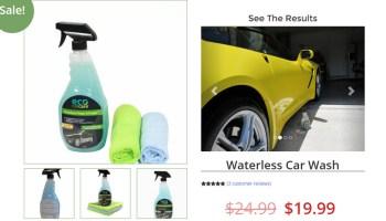 Waterless Car Cleaner Spray