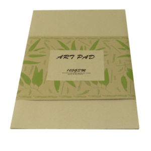 Art Pad A4 recycled brown paper