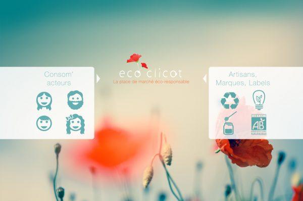Ecoclicot : un site marchand respectueux de l'environnement.