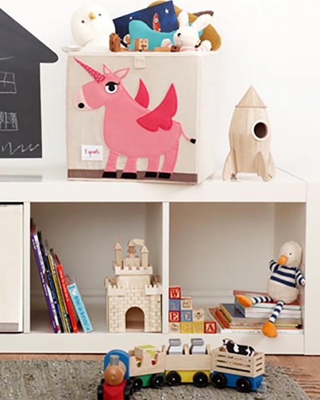 Contenitore Portaoggetti Compatibile Con Scaffali Ikea Unicorno 3sprouts