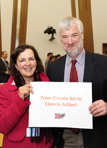 Alison Boyes with Alex Fergusson MSP
