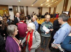 Stop Climate Chaos Scotland lobby at Scottish Parliament