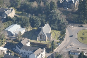 St Mary's taken from the air 27.02.13