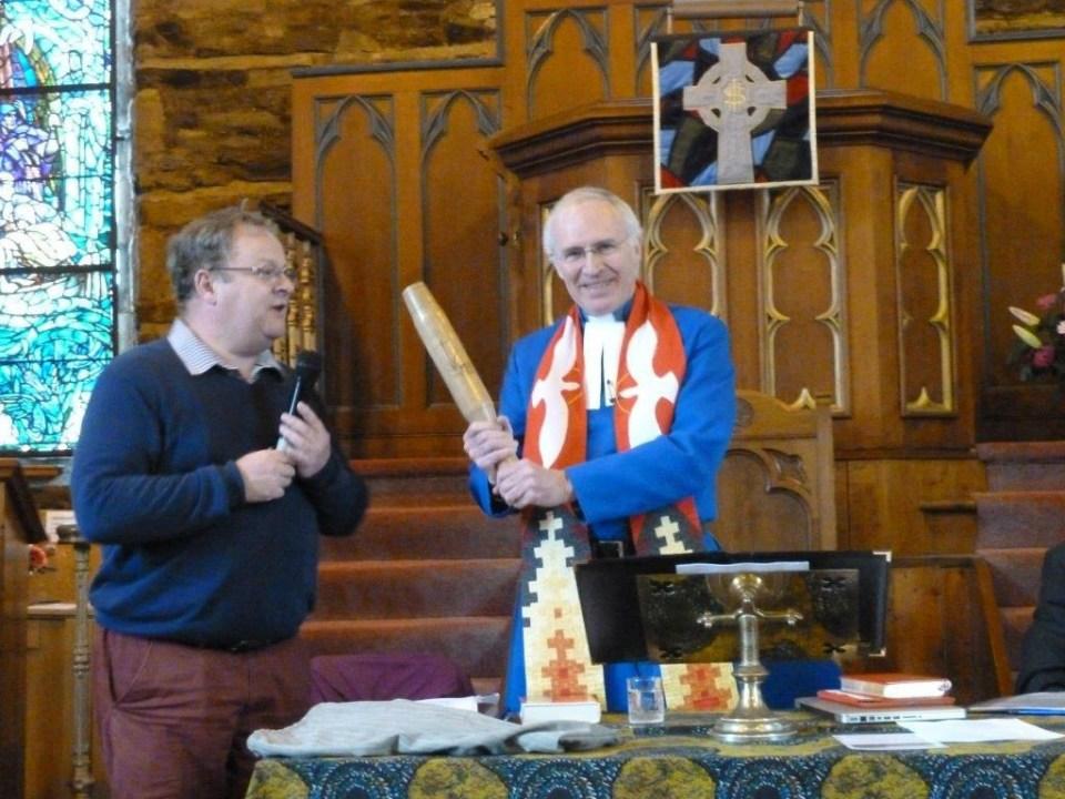 7. Baton at Argyll Presbytery.