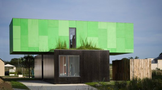 Crossbox by CGArchitectes – Container Home