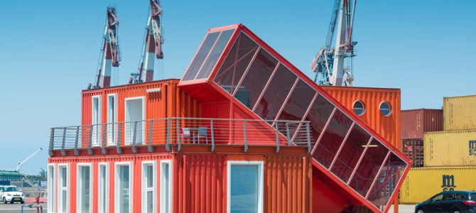 Shipping Container Terminal, Port of Ashdod, Israel