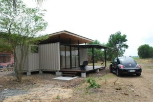 R2x20 Container Home Project by A Site-Specific Experiment