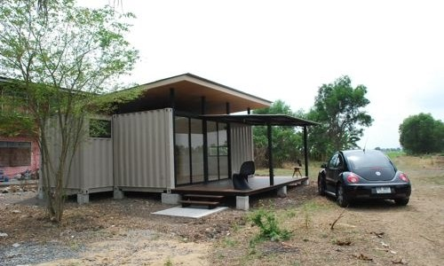 The R2x20 Container Home Project, Thailand.