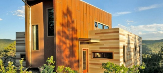 The Shipping Container Home by Studio:HT, Colorado, USA.