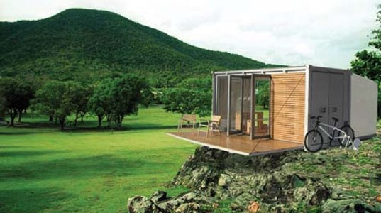 The Shipping Container All Terrain Cabin (ATC) by BARK