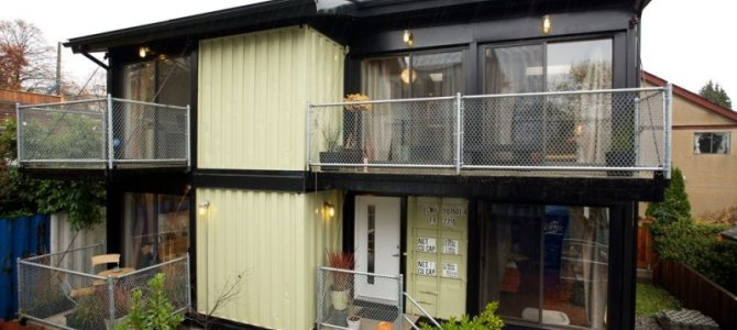 The Zigloo Domestique Shipping Container House Project – Victoria BC