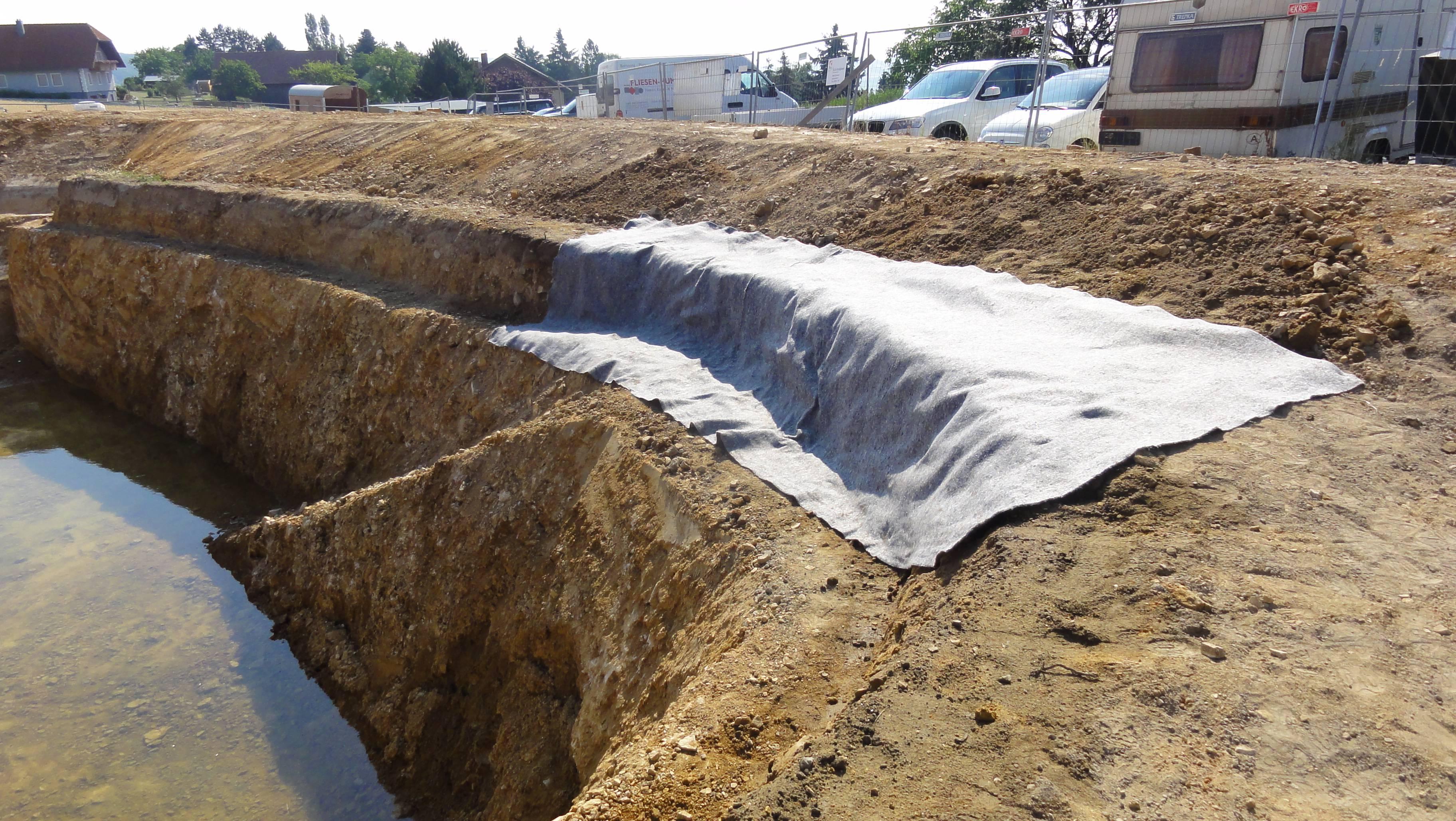 Wir bauen einen Teich 2/…