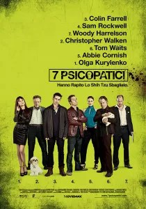 7 psicopatici poster