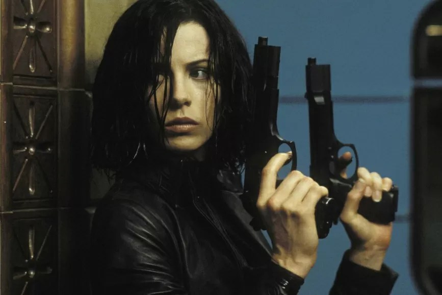 Kate Beckinsale Underworld scena film