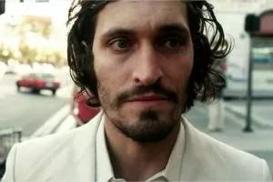 Vincent Gallo in bianco