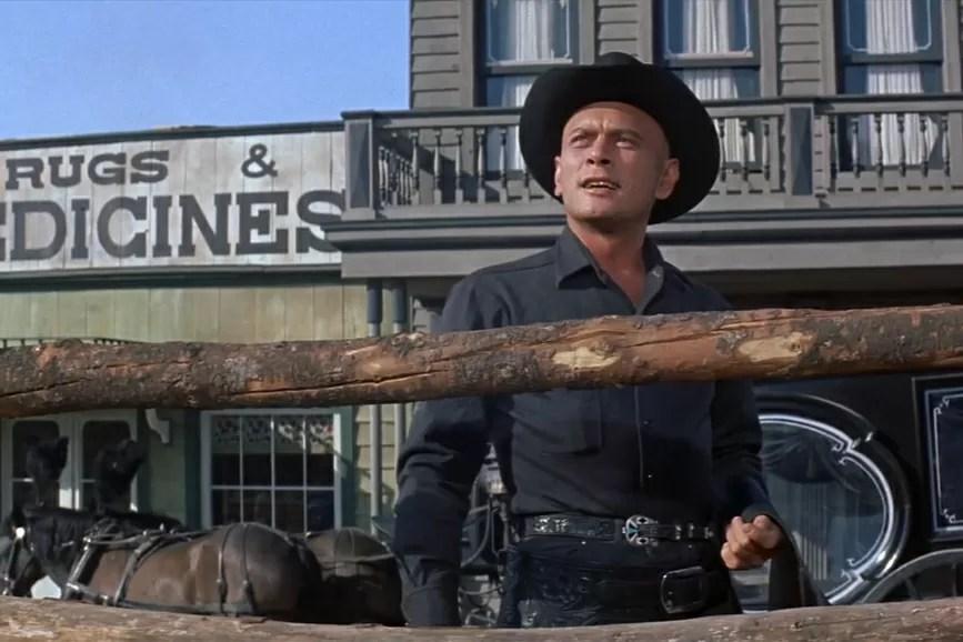 Yul Brynner cowboy
