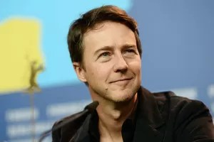 Edward Norton ad una conferenza