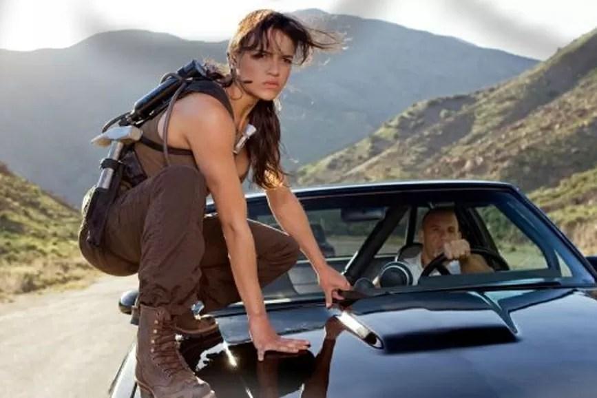 Michelle Rodriguez macchina