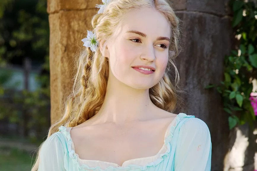 Lily James film