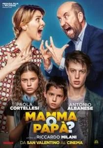 """""""Mamma o papà?"""" locandina"""