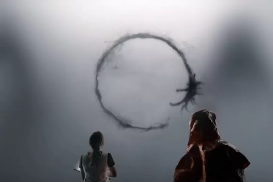 """Arrival"": una scena del film."