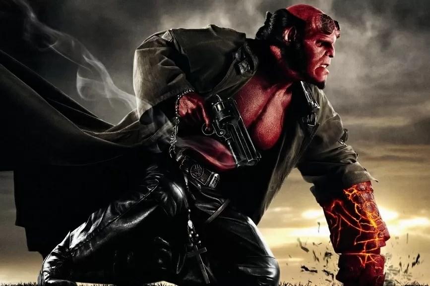 Hellboy scena film